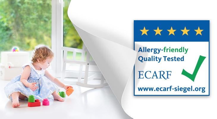 Καθαριστές Αέρα με πιστοποίηση ECARF