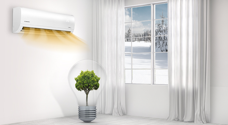 Why choose an air conditioner for heating throughout the winter?
