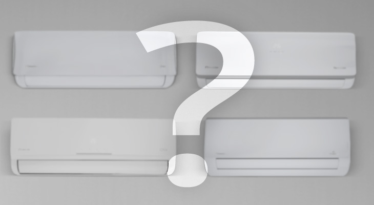 How can I choose the correct air conditioner?