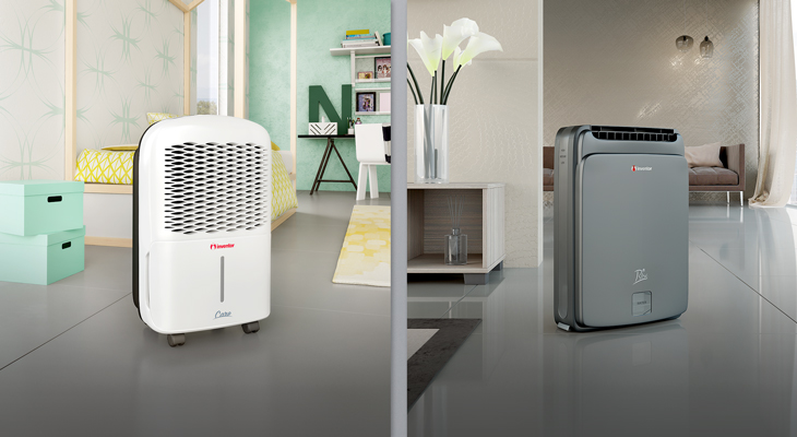 Where should the dehumidifier be placed?