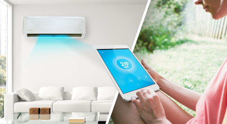 What are the smart WiFi Ready air conditioners?