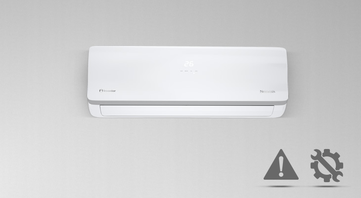 What should I be ware of during the installation of an air conditioning unit?