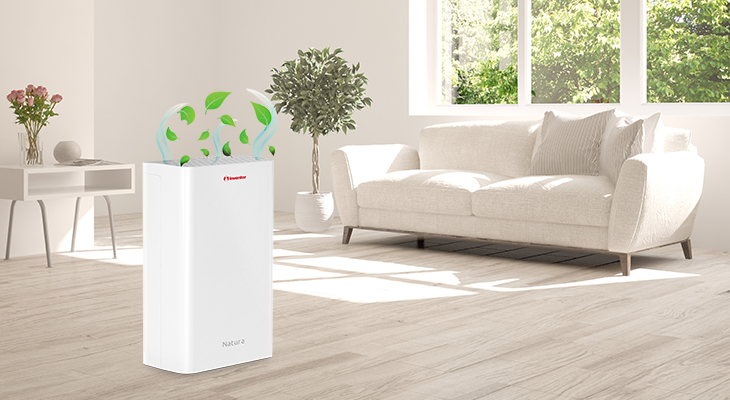 Natura Air Purifier for optimal air quality!