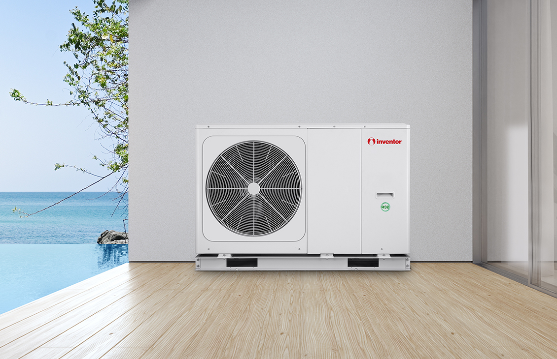 Take advantage of the heat pumps efficiency in the summer!