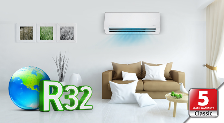 New Passion ECO air conditioners series with R32, A+++, Wi-Fi & Ionizer Filter!
