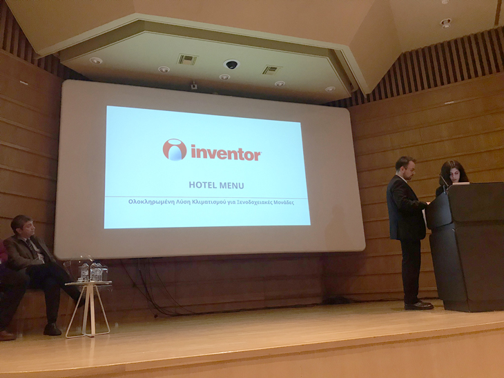 "Inventor sponsors the ""Hotel Air Conditioning"" expo!"