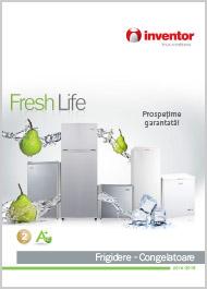 Catalog Frigidere si Lazi frigorifice Inventor 2014 2015