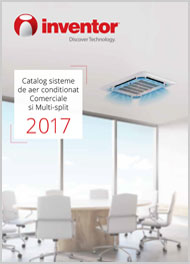 Aer conditionat Comerciale si Multi-split 2017
