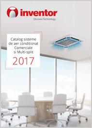 Aer conditionat Comerciale si Multi-split 2017