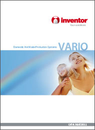 Domestic Hot Water Production Systems VARIO