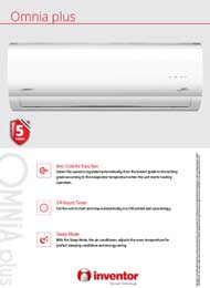 Omnia Plus On/Off Heat Pump R22